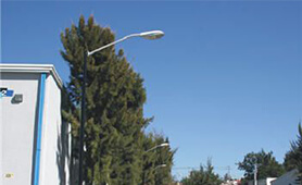 High Power LED Streetlight, E40 Retrofit, SP90, Installed in Mexico