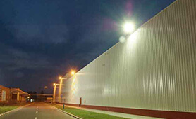 LED Street Light, LU4 Project in Romania