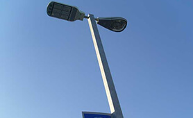 BBE LED Street Light on Testing in Chile