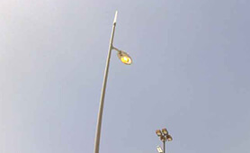 LED Street Light Project, LU6 in Singapore