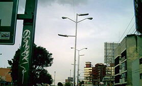 LED Street Light, LU6 in Mexico City Mexico