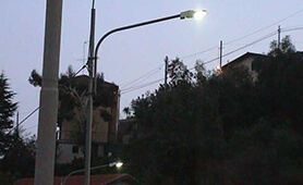LED Street Light, LU2 in S.Remo Italy