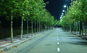 LED Street Lighting Project, LU4 and LU6 in Barcelona, Spain