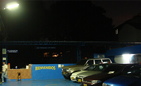 BBE LED Use for Auto Repair Lighting in Colombia