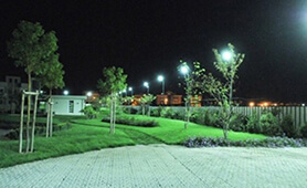 LU2 for exterior lighting in Corato, Italy