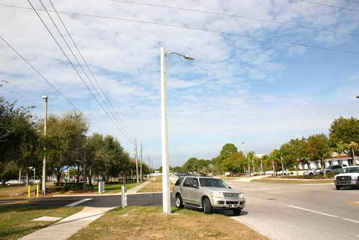 LED Street Light, LU4 in Florida, US