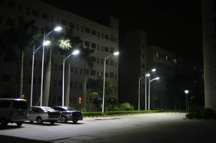 Mixed Test Project with BBE LED Street Light in China