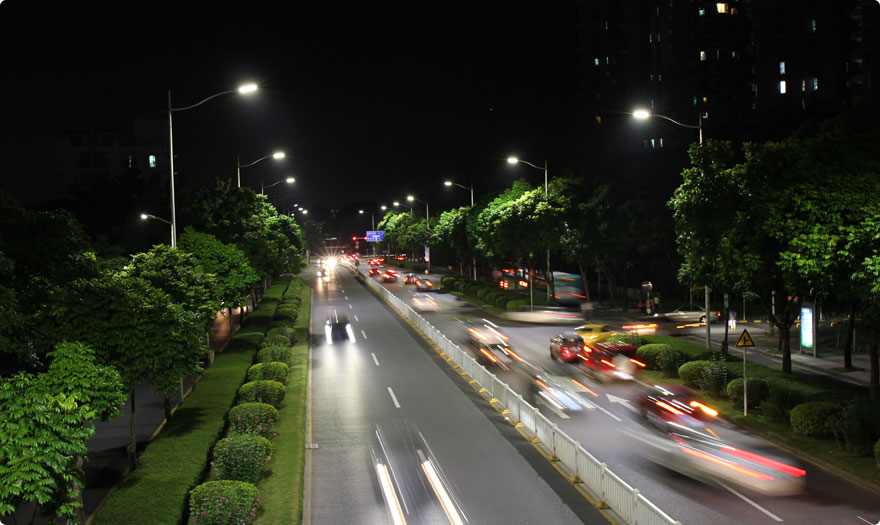 BBE installed more than 14,000pcs LED street light in Futian area