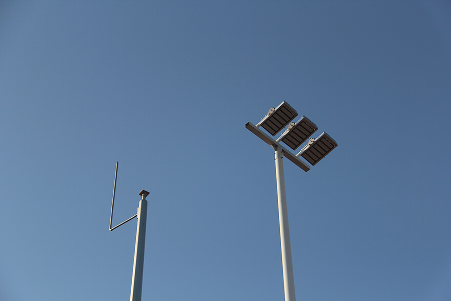 BBE LED Street Light-LS8 in Hongli Road, Futian District, Shenzhen, China