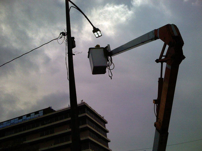 LED Street Light, LU4 in Guatemala