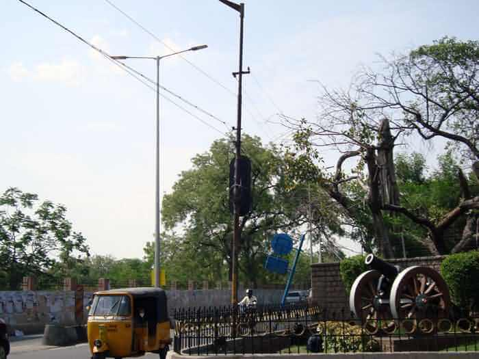 LED Street Light, LU4 in Hyderabad, India