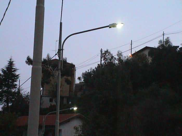 LED Street Light, LU2 in S.Remo, Italy