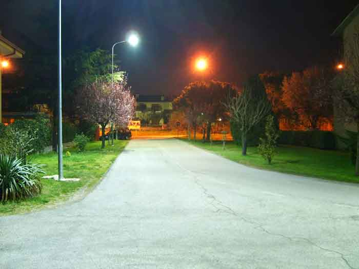 LED Street Light, LU2 in Italy