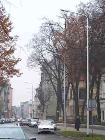 LED Street Light, LU4 in Poland