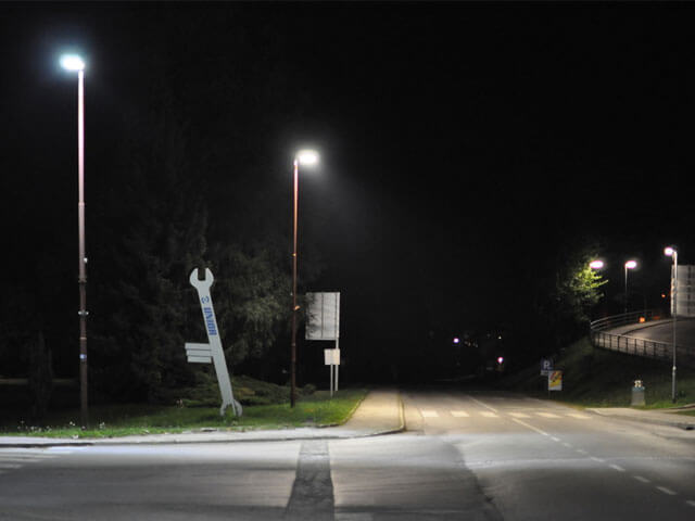 BBE LED Street Lighting, LU2 in Slovenia