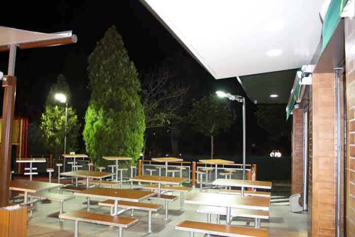 LED Street Light, LU4 in McDonald's, Spain