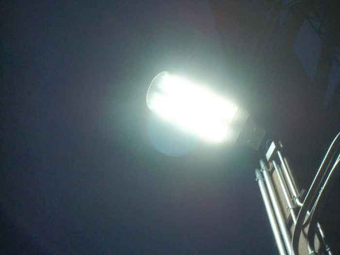 LED Street Light, LU6 Test Project in United States