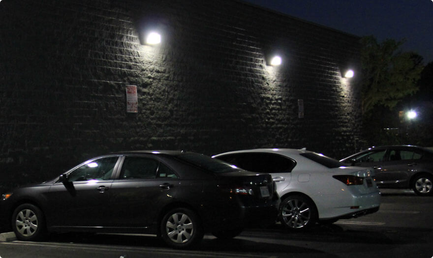BBE LED wall pack in USA