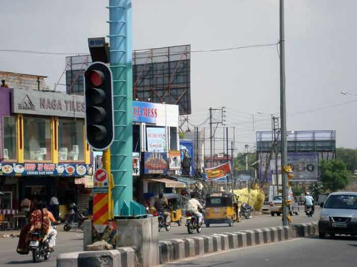 LED Traffic Light in Hyderabad, India
