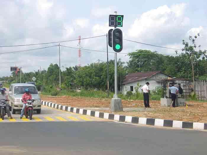 Traffic Light Indonesia Led Traffic Light in Indonesia