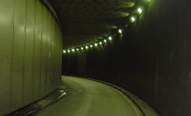 LED Tunnel Lighting in Valladolid, Spain