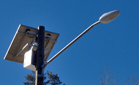 Solar LED Street Lighting, LU1 in New Hampshire, USA
