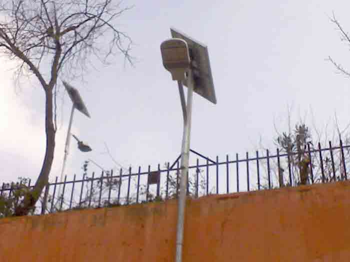 Solar LED Street Light (LU2) in Italy