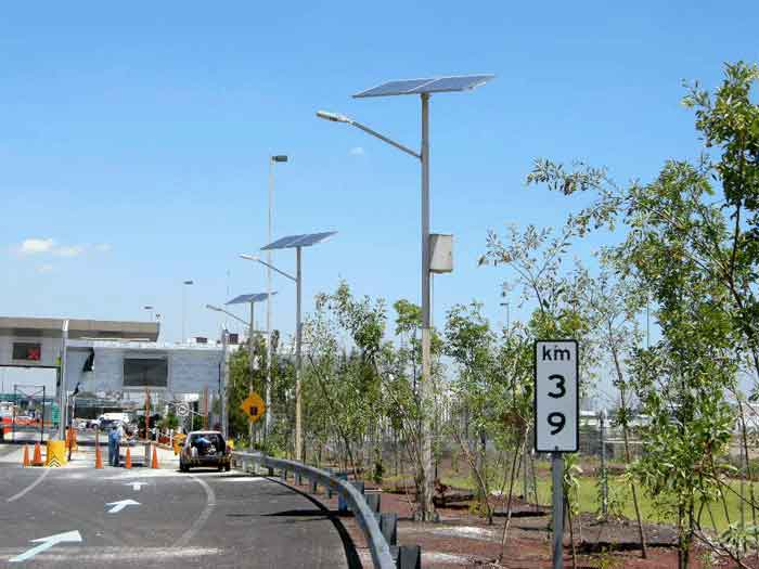 Solar LED Street Light (LU2) in Mexico