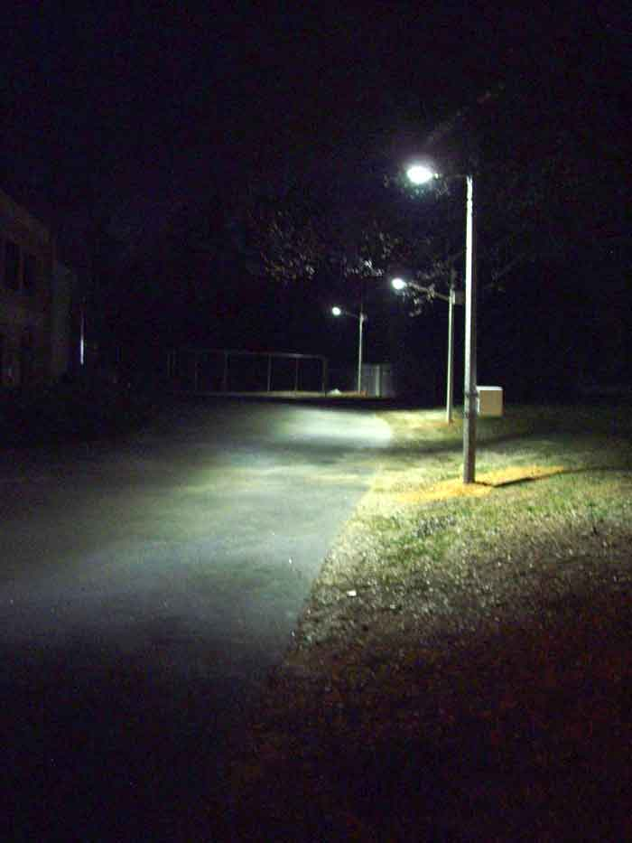 Solar LED Street Light, LU2 in Apex, NC, U.S.A