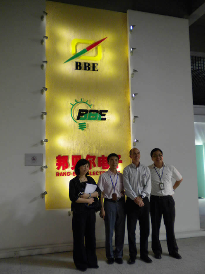 Energy Star visited BBE LED