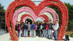 Happy Tour to Chimelong Paradise and Sunflower Garden