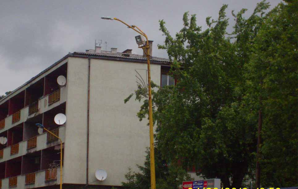BBE LED Street Light, LU2 in Slovenia