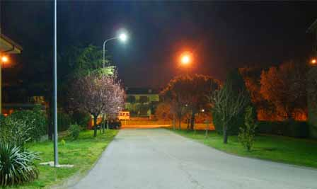 LED Street Light LU2 in Italy