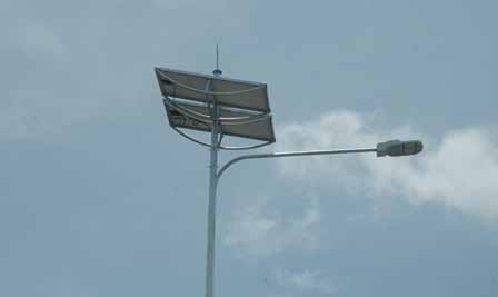 Solar LED Street Lighting, LU2 in Ho Chi Minh City, Vietnam