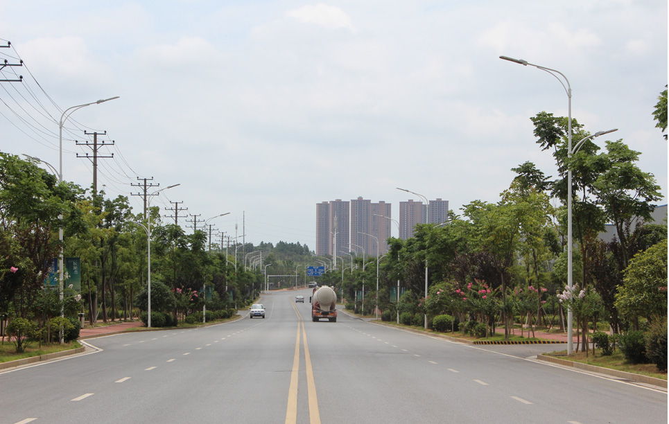 BBE LED Street Light LU series in Changsha, China
