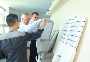 Australia customers visit BBE and seek further cooperation