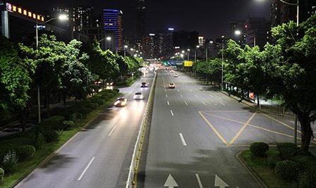 BBE installed more than 14,000pcs LED street light in Futian