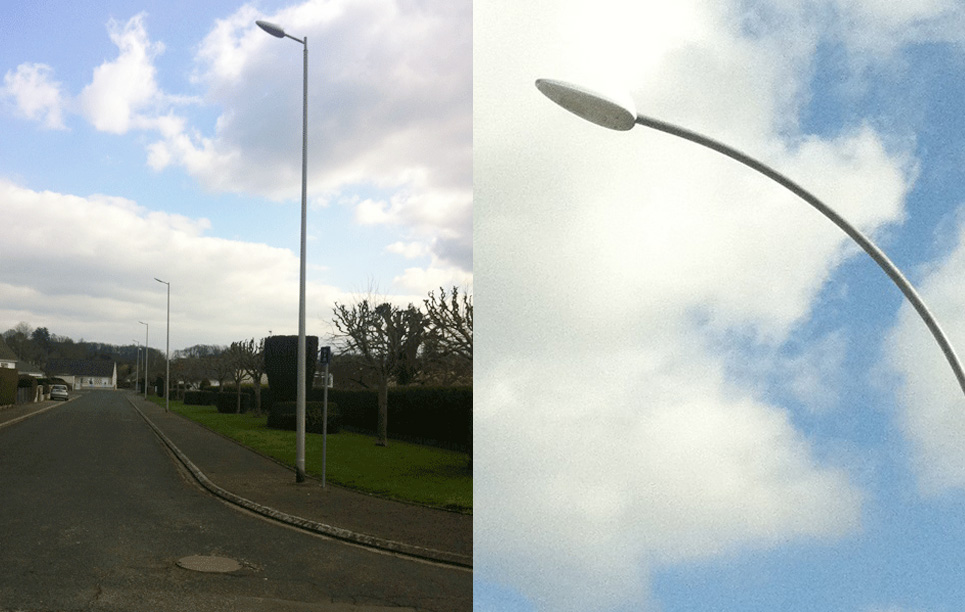 BBE LED Street Light LU1 in France