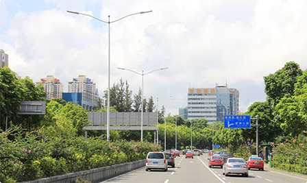 BBE LED Roadway lighting improves Shenzhen's ecology