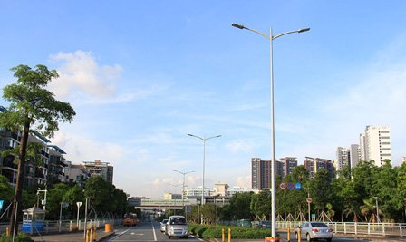 BBE LED Street Light LS series around Shenzhen North Railway