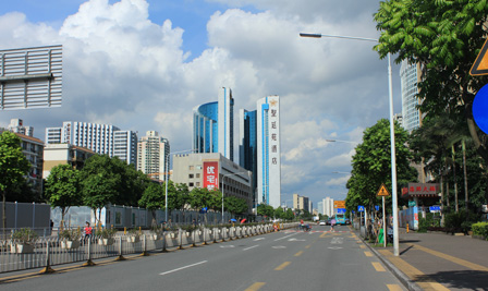 BBE LED Street Light –LS10 in HongLi Road Shenzhen