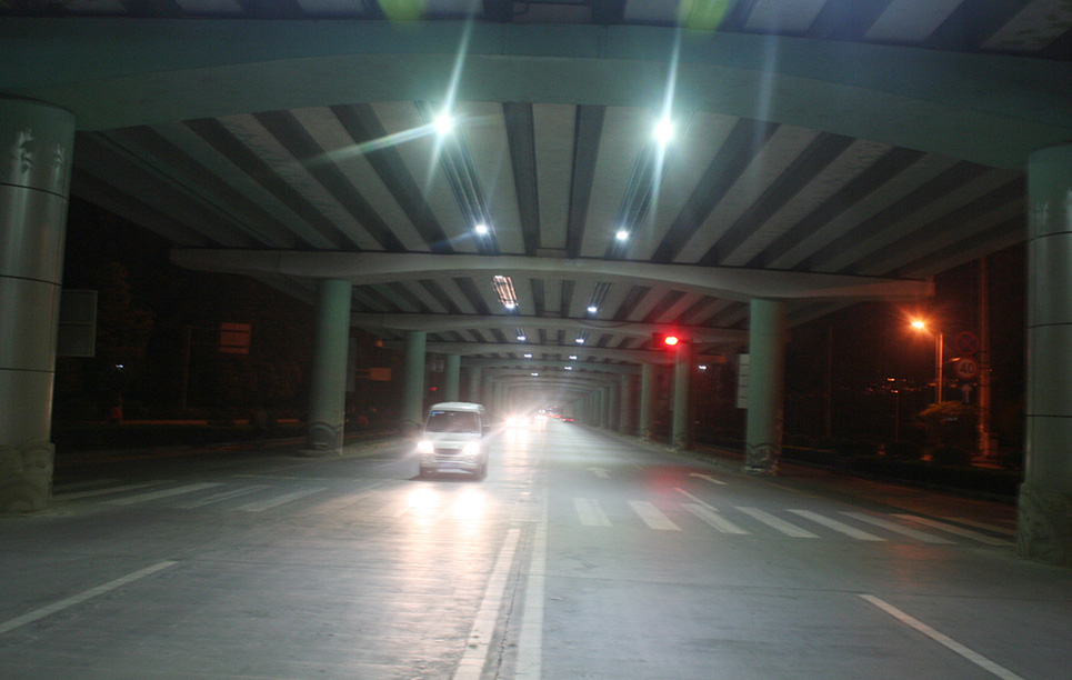BBE LED Tunnel Lighting at Chengdu Airport, China