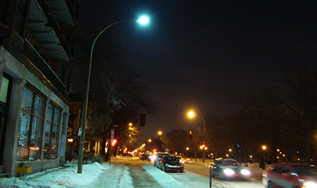 LED Road Lighting, LU4 in Canada