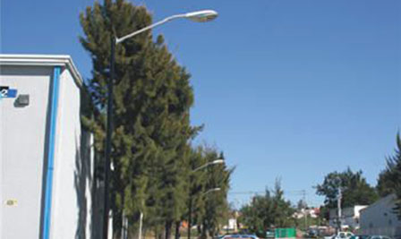High Power LED Street light, E40 Retrofit, SP90, Installed in Mexico