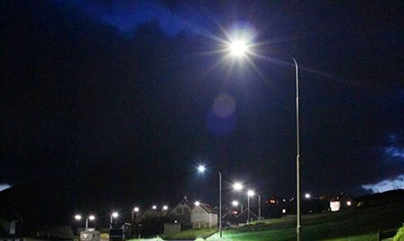 BBE LED Street Light, LU1 in Faroe Islands