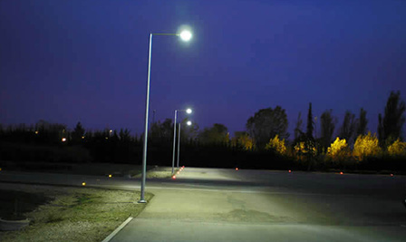 LED Street Light, LU2 in Norway