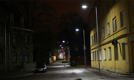 LED Street Light LU4 in Estonia