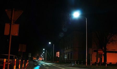 LED Street Light LU4 in Kalisz Poland
