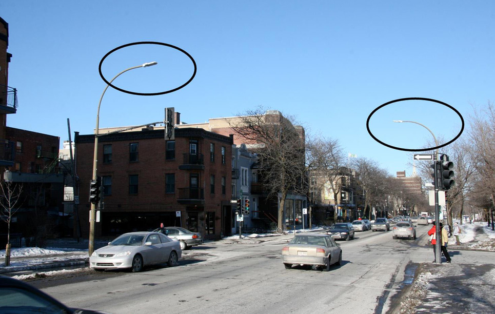 Led Street Light Lu4 In Montr 233 Al Qu 233 Bec Canada