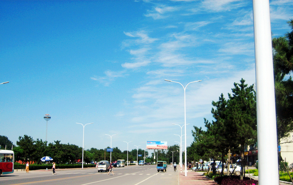 LED Street Light LU6 in Qinhuangdao China